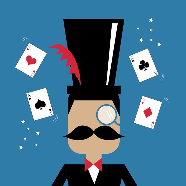 撲克牌魔術